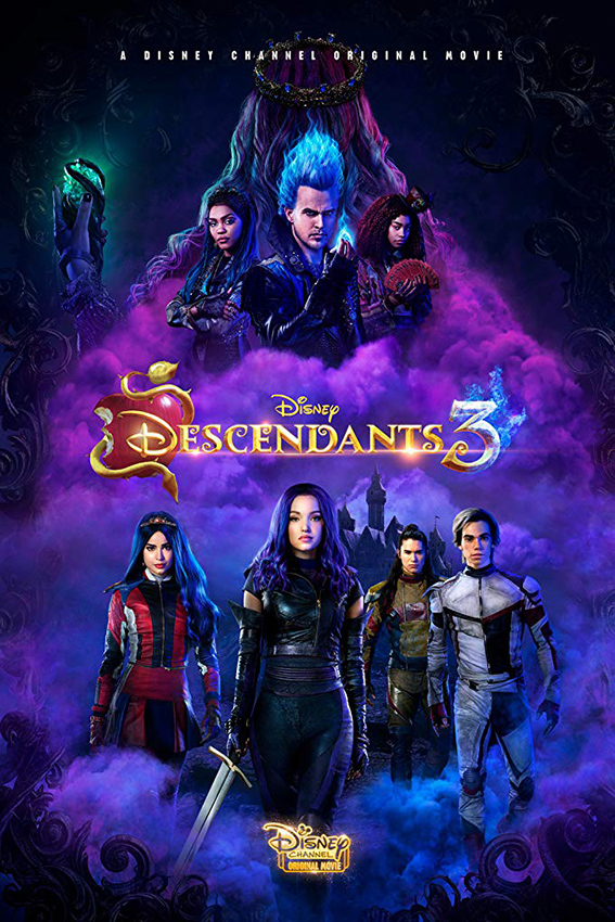 Descendants 3 [2019 USA Movie] Drama, Musical, Family