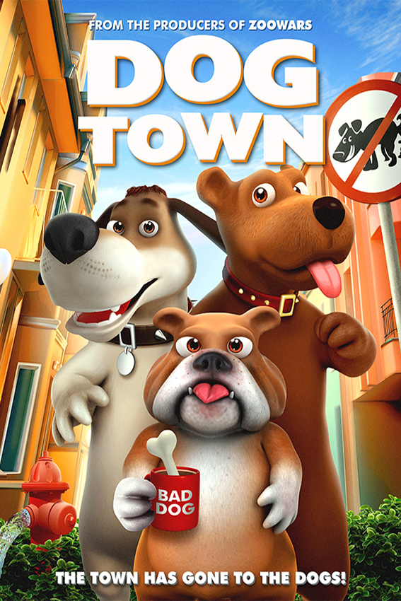Dog Town [2019 USA Movie] Animation, Family