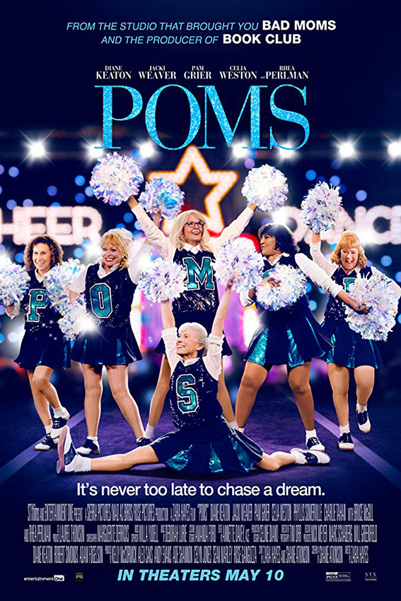 Poms [2019 UK, USA Movie] Comedy, Drama