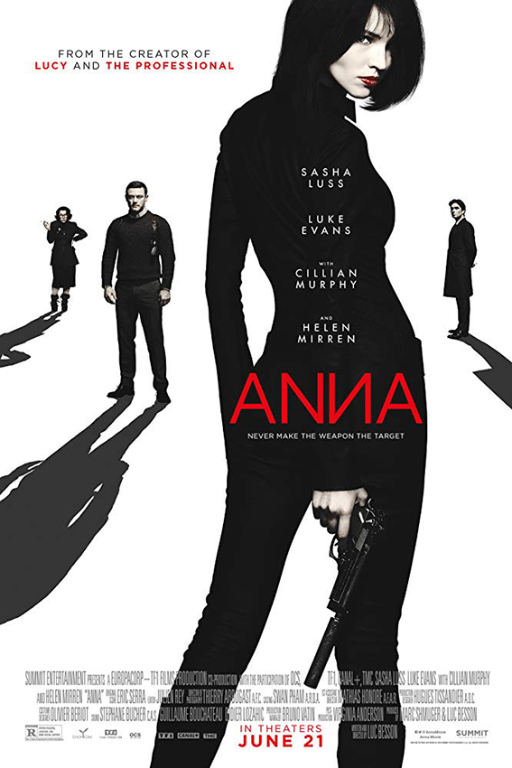 Anna [2019 USA, France Movie] English, Action, Thrilller
