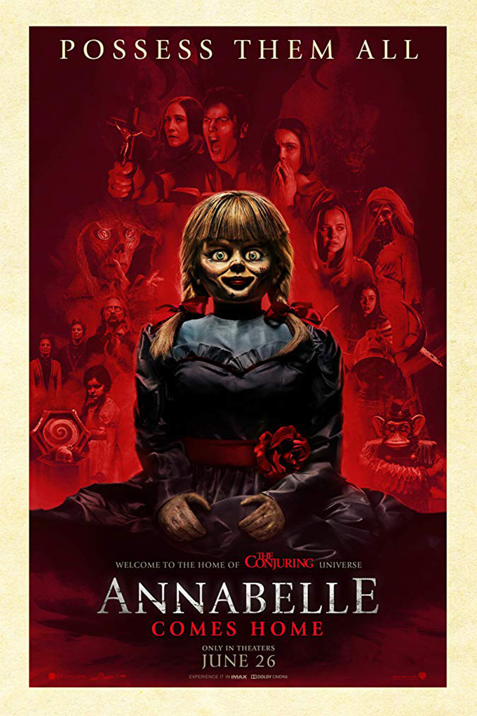 Annabelle Comes Home [2019 USA Movie] Horror
