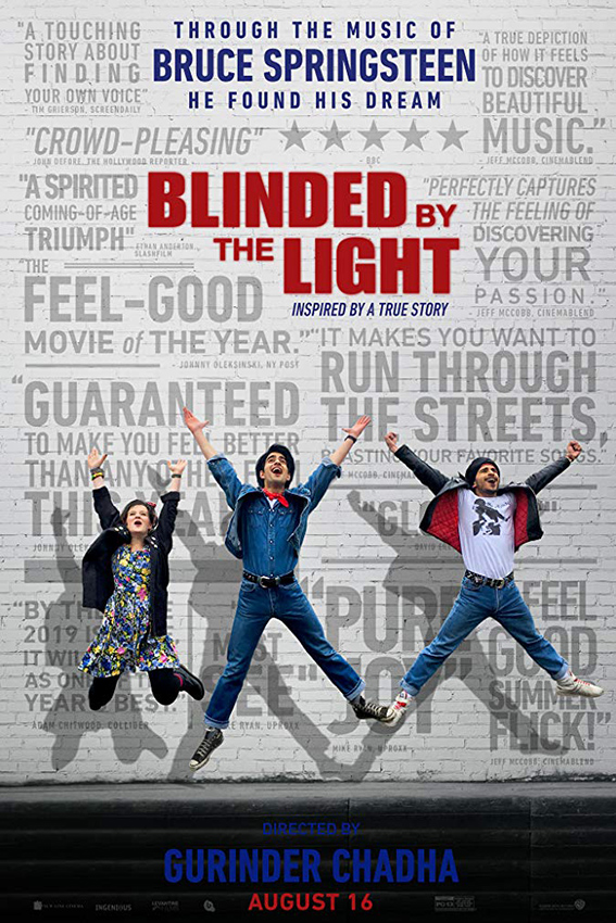 Blinded By Light [2019 USA Movie] Comedy, Drama, Musical, True Story