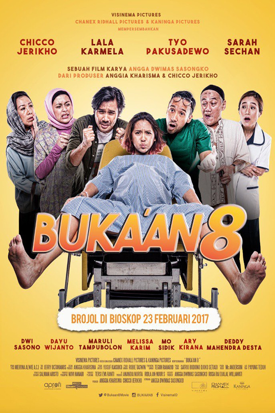 Buka'an 8 [2017 Indonesia Movie] Drama, Comedy