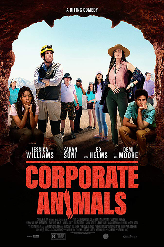 Corporate Animals [2019 USA Movie] Comedy, Horror