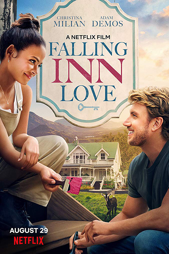 Falling Inn Love [2019 USA Movie] Comedy, Romance