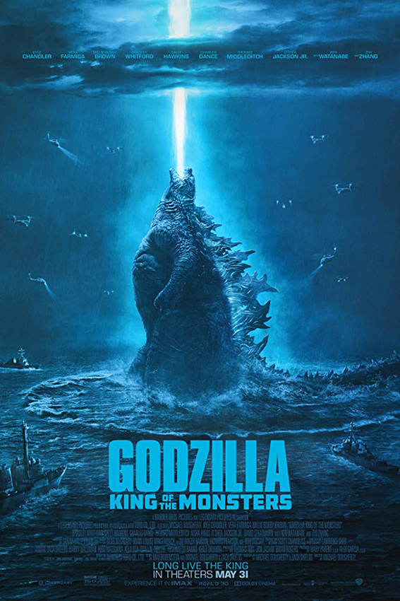 Godzilla: King of the Monsters [219 USA Movie] Action, Fantasy
