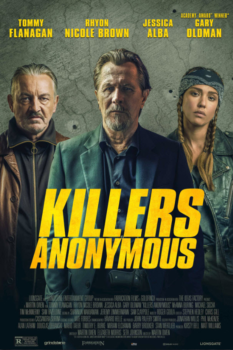 Killers Anonymous [2019 USA Movie] Action, Crime, Thriller