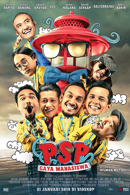 PSP: Gaya Mahasiswa [2019 Indonesia Movie] Comedy