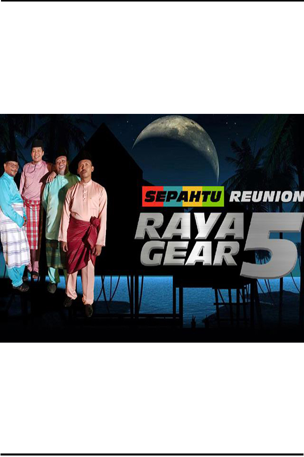 Sepahtu Reunion Raya Gear 5 [2019 Malaysia Series Raya] 5 episodes END (1) Drama