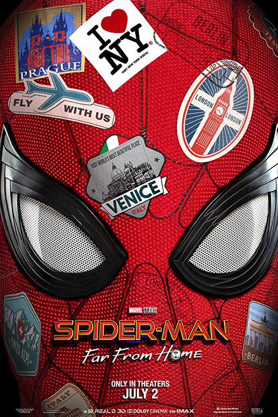 Spider-Man: Far from Home [2019 USA Movie] Action, Sci Fi