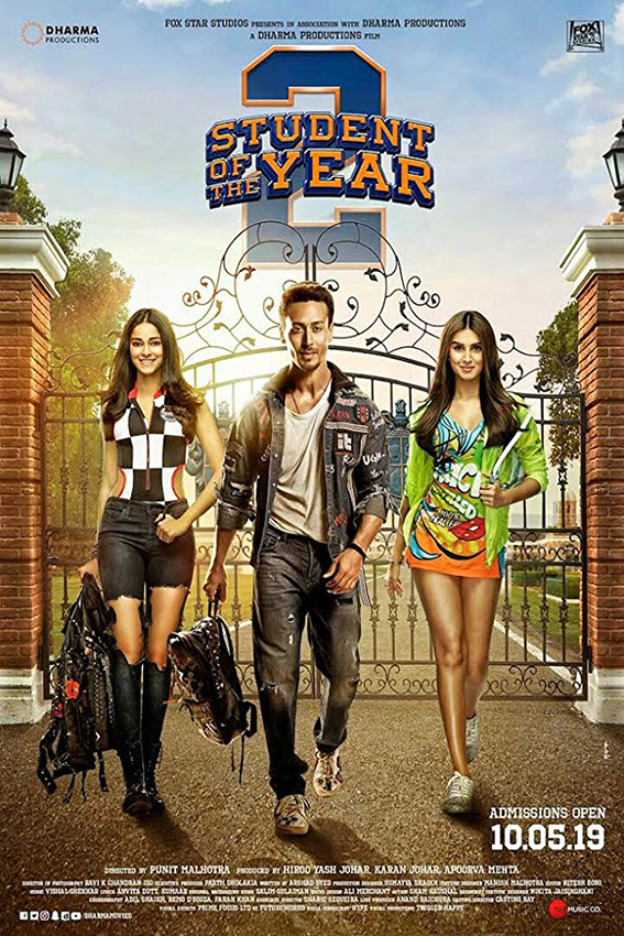 Student of the Year 2 [2019 India Movie] Hindi, Comedy, Drama, Romance