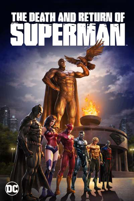 The Death and Return of Superman [2019 USA Movie] Animation