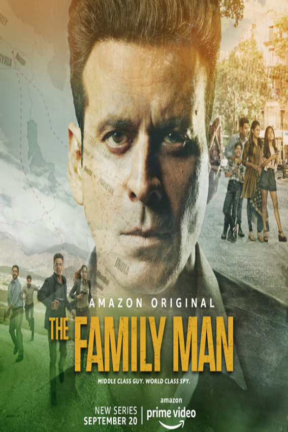 The Family Man [2019 India Series] 10 episodes END (2) Drama, Action