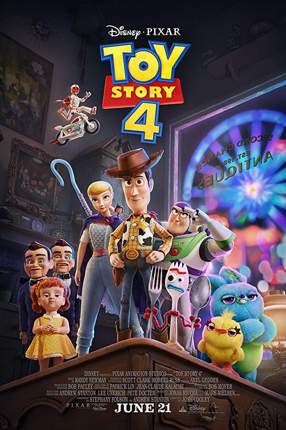 Toy Story 4 [2019 USA Movie] Animation, Family