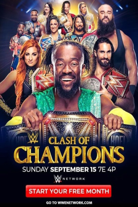WWE Clash of Champions 2019 [2019 USA Movie] Sport