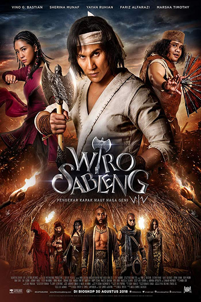 Wiro Sableng: Pendekar Kapak Maut Naga Geni 212 [2018 Indonesia Movie] Action, Adventure, Comedy
