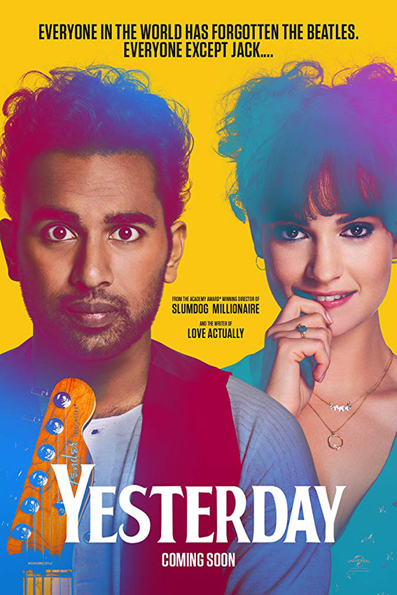 Yesterday [2019 UK, Russia, China Movie] English, Comedy, Fantasy, Music