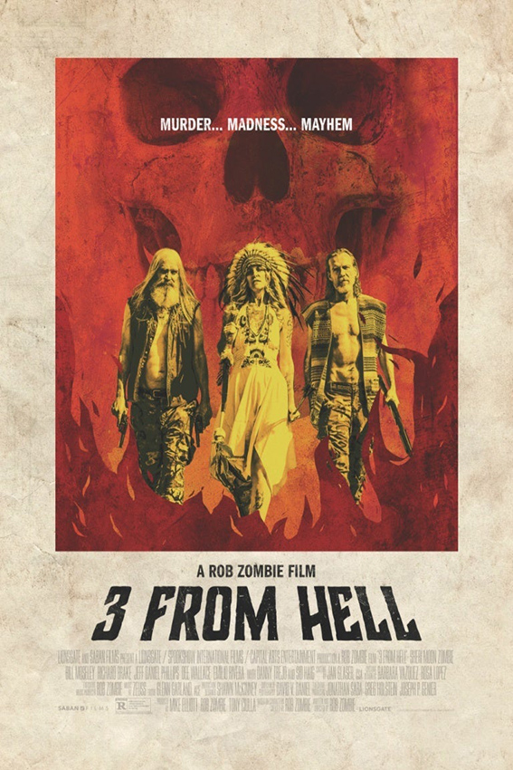 3 From Hell [2019 USA Movie] Horror