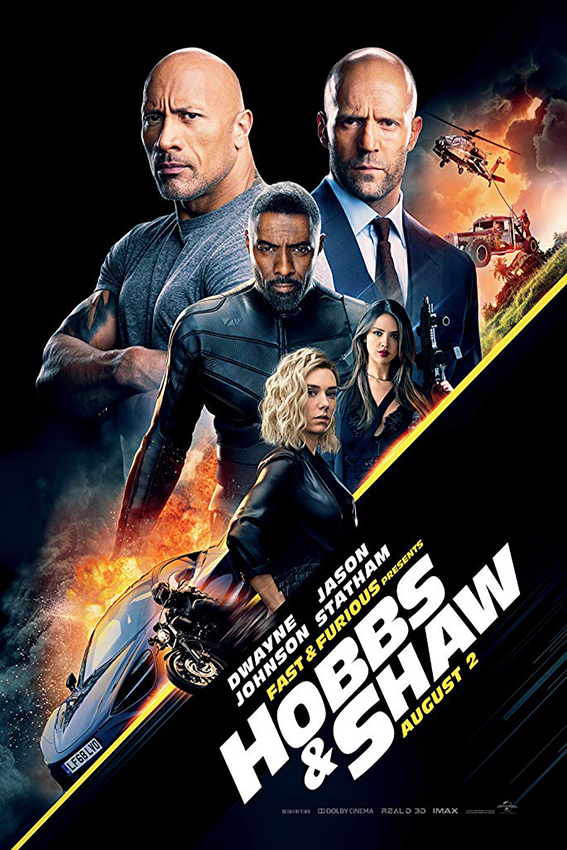 Fast & Furious Presents: Hobbs & Shaw [2019 USA Movie] Action
