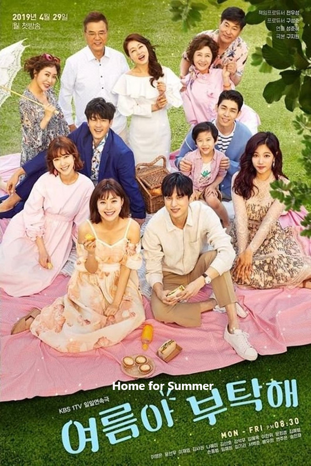 Home for Summer [2019 South Korea Series] 128 episodes END (10) Drama, Romance, Family