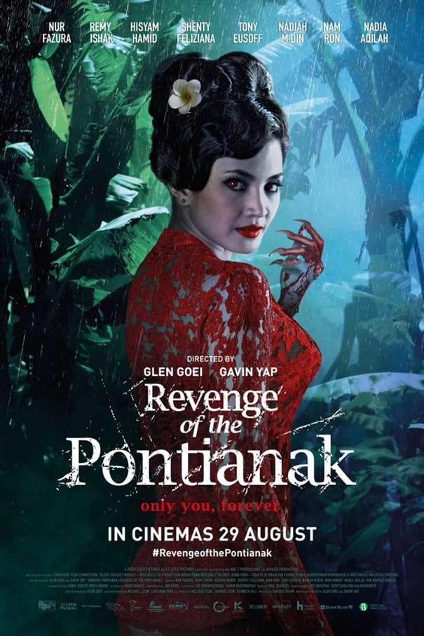 Revenge of the Pontianak [2019 Malaysia Movie] Horror, Thriller, Romance