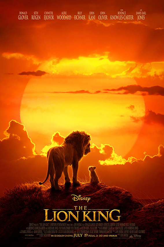 The Lion King [2019 USA Movie] Animation, Family