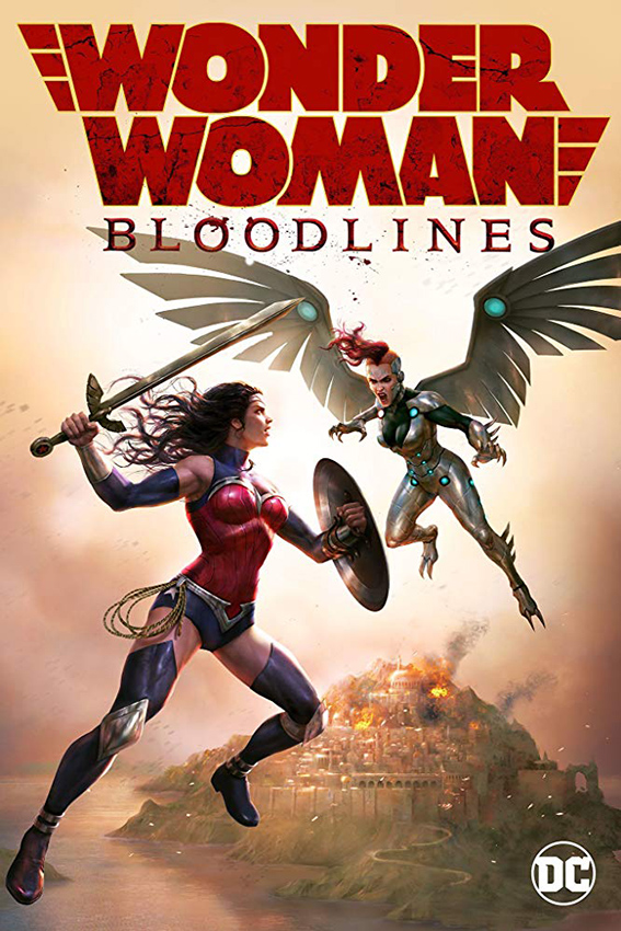 Wonder Woman: Bloodlines [2019 USA Movie] Animation