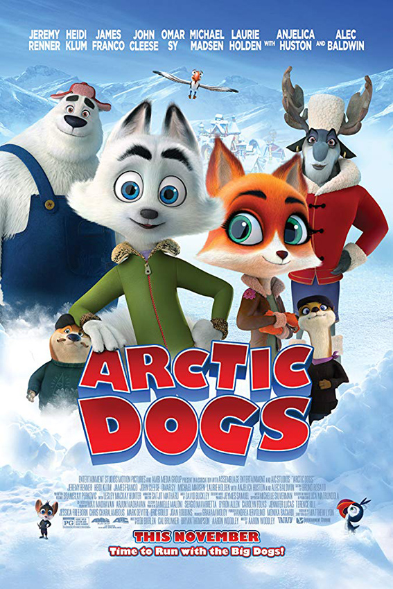 Arctic Dogs [2019 USA Movie] Animation, English, Family