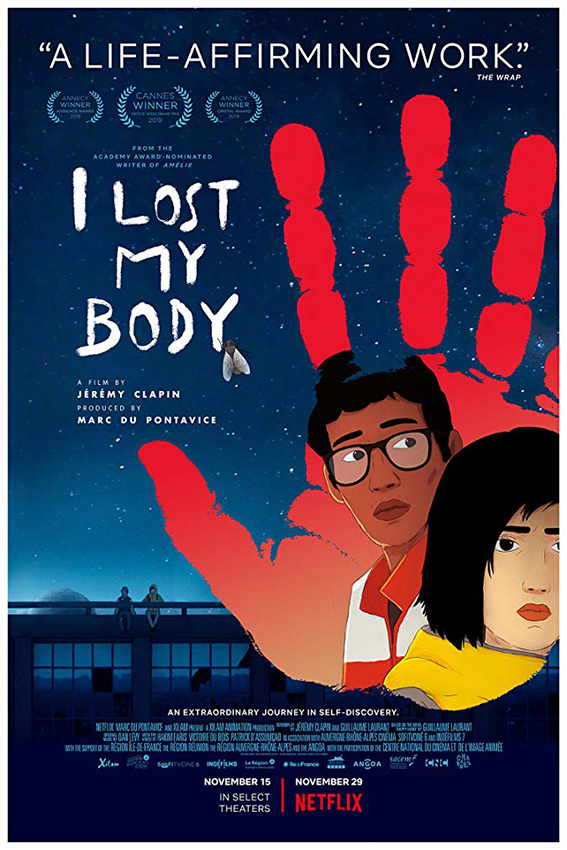 I Lost My Body [2019 France Movie] English Dub, Animation, Drama