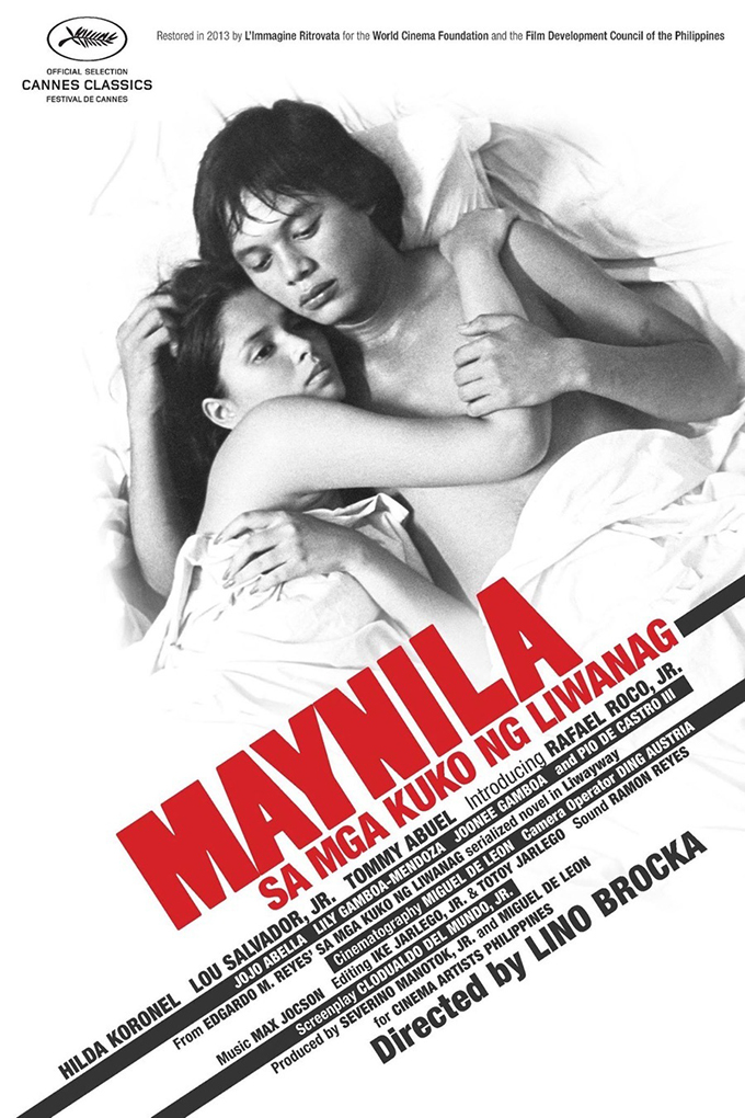 Manila in the Claws of Light [1975 Philippines Movie] Drama, Mystery