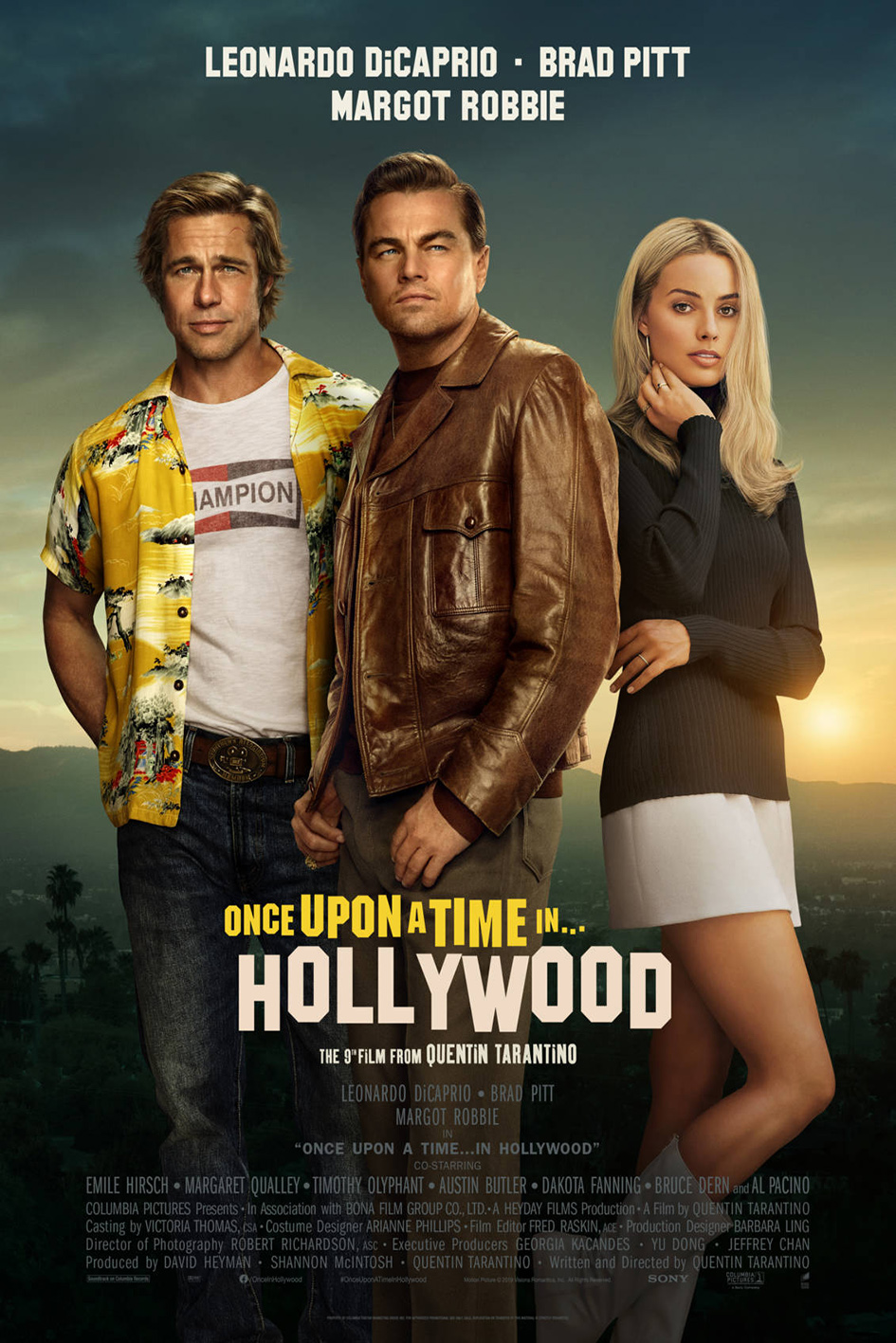 Once Upon a Time in Hollywood [2019 USA Movie] Comedy, Drama
