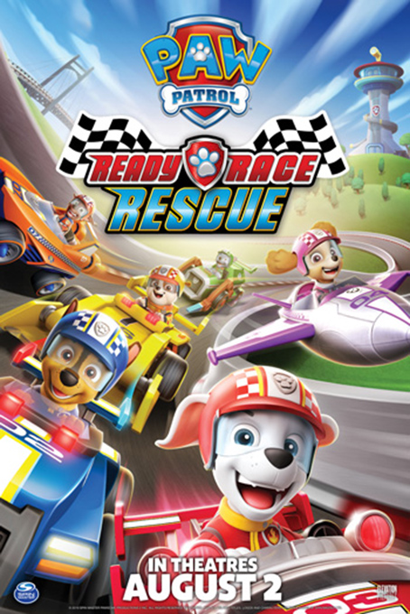 Paw Patrol Ready Race Rescue [2019 USA Movie] English, Animation