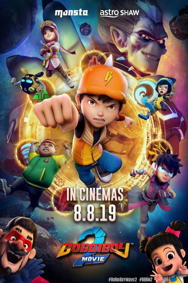 BoBoiBoy Movie 2 [2019 Malaysia Movie] Animation, Family