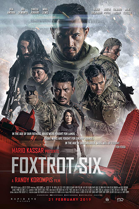 Foxtrot Six [2019 Indonesia Movie] Action, Science Fiction