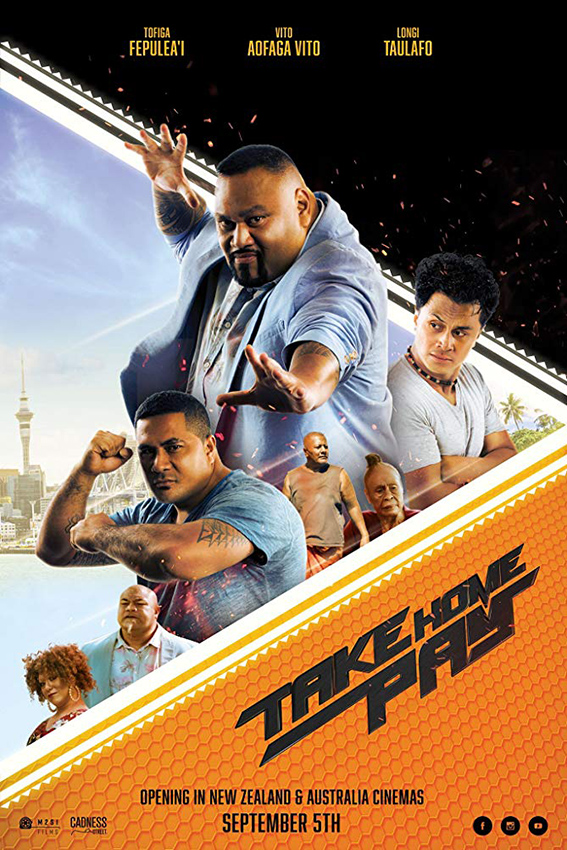 Take Home Pay [2019 New Zealand Movie] Action, Comedy