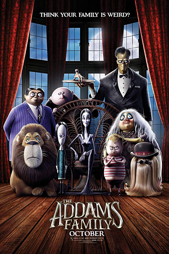 The Addams Family [2019 USA, Canada Movie] Animation, Family, English