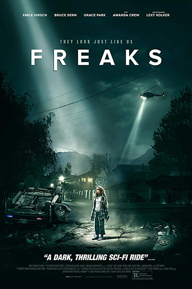 Freaks [2019 English Movie] Drama, Science Fiction, Thriller