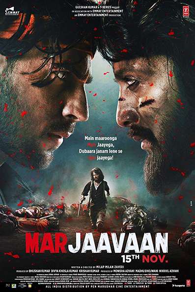 Marjaavaan [2019 India Movie] Hindi, Action, Romance
