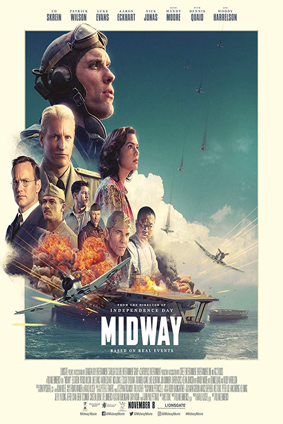 Midway [2019 English Movie] Action, Drama, History, War
