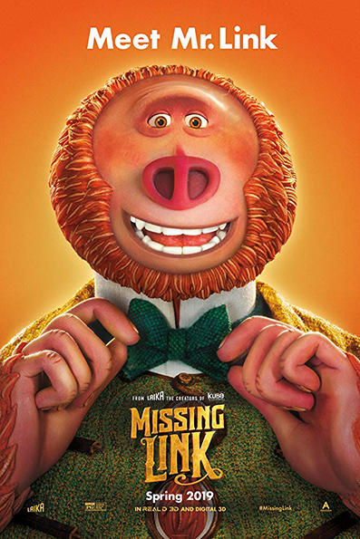 Missing Link [2019 English Movie] Animation, Family