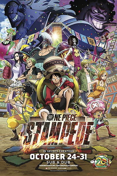 One Piece: Stampede [2019 Japan Movie] Action, Adventure, Animation