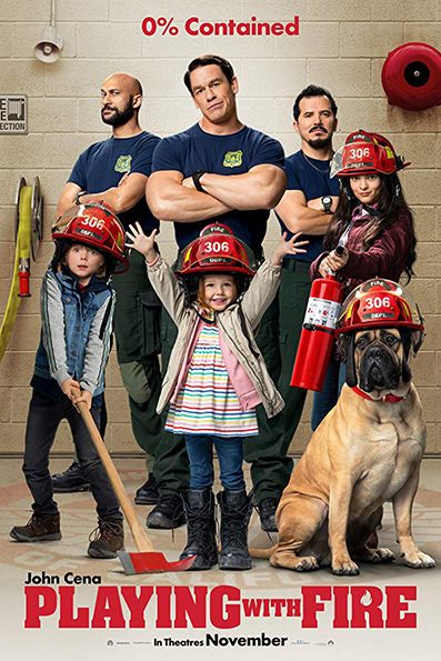 Playing with Fire [2019 English Movie] Comedy, Family
