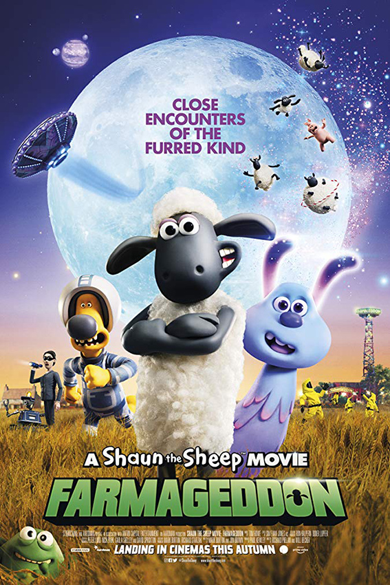 A Shaun the Sheep Movie: Farmageddon [2019 English Movie] Animation, Comedy, Family