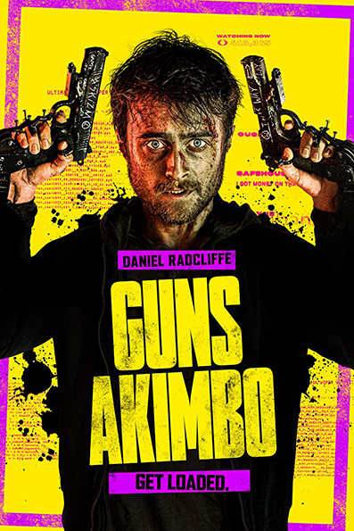 Guns Akimbo [2019 English Movie] Action, Comedy, UK, Germany, New Zealand