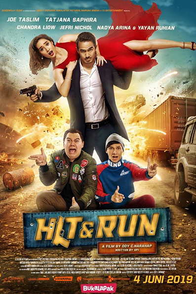 Hit & Run [2019 Indonesia Movie] Action, Comedy, Romance