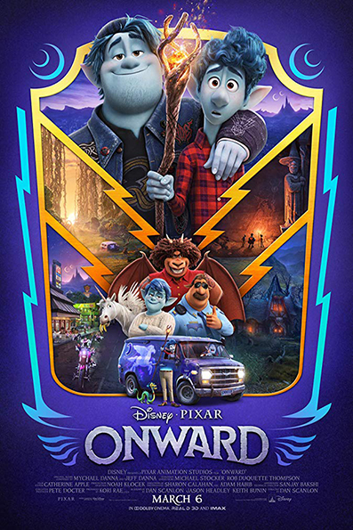 Onward [2020 English Movie] Animation, Family, USA