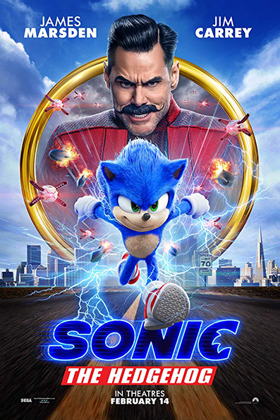 Sonic the Hedgehog [2020 English Movie] Action, Comedy, Adventure