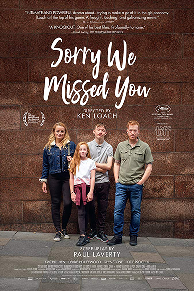 Sorry We Missed You [2019 English Movie] UK, France, Drama