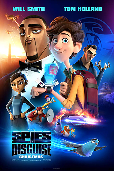 Spies in Disguise [2019 English Movie] Animation, Drama