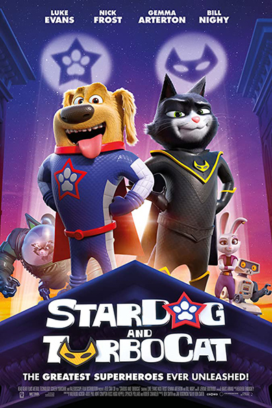 StarDog and TurboCat [English Movie] Animation, Family, UK